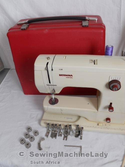 Sewing Machines Overlockers Bernina MINIMATIC 40 SEWING MACHINE New Bernina 807 Sewing Machine