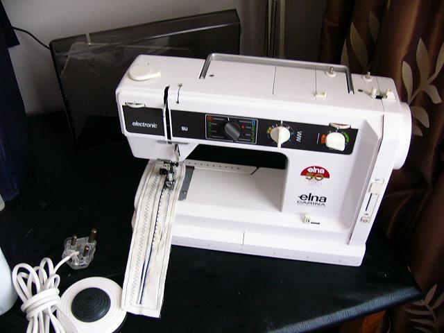Sewing Machines Overlockers ELNA CARINA AIR ELECTRONIC SWISS New Elna Carina Sewing Machine