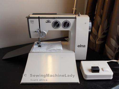 Sewing Machines Overlockers ELNA LOTUS SP SEWING MACHINE Classy Elna Lotus Sp Portable Sewing Machine