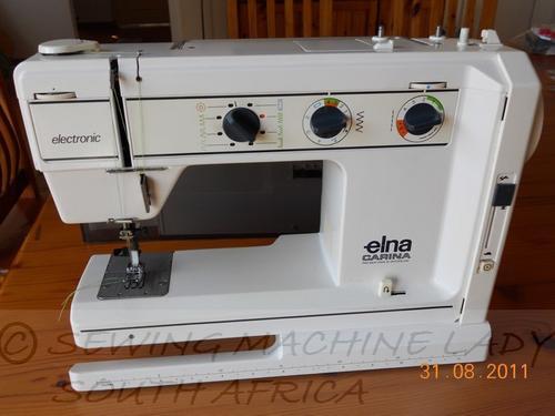 Elna Carina Sewing Machine