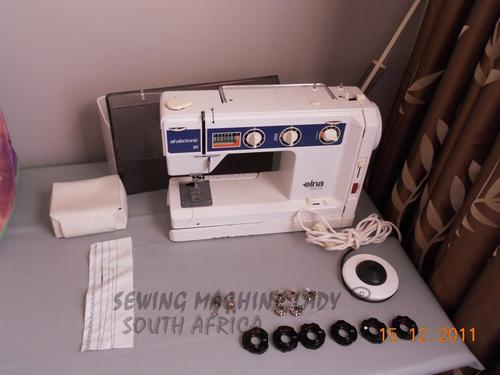 Sewing Machines Overlockers ELNA SU AIR ELECTRONIC SWISS MADE New Elna Su Sewing Machine