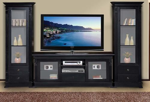 Entertainment Units Plasma Stand Side Pieces Towers New 2