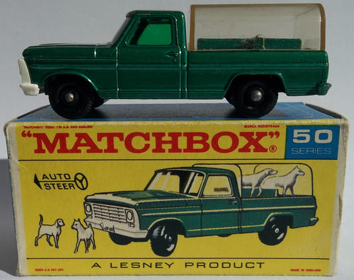 Matchbox Lesney #73 1968 Mercury Superfast W/ Box | What's it worth