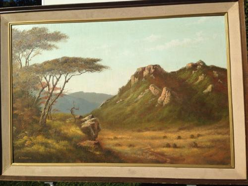 Oils superb original oil painting eric forlee signed for Oil paint price