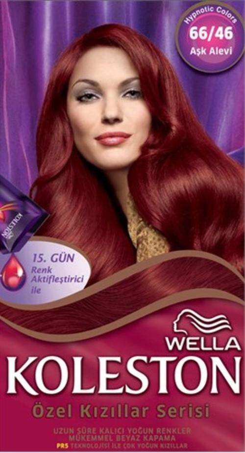 Hair Colourants Dyes Koleston Red Specials 6646 Cherry Red Was