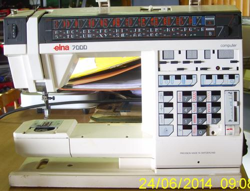 elna 7000 sewing machine parts