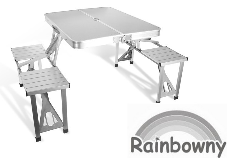 Chairs aluminum picnic table outdoor folding table was sold for aluminum picnic table outdoor folding table watchthetrailerfo