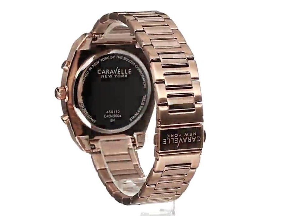 caravelle new york watch manual