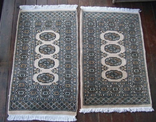 Pure Wool Handwoven Karachi Bokhara Rugs