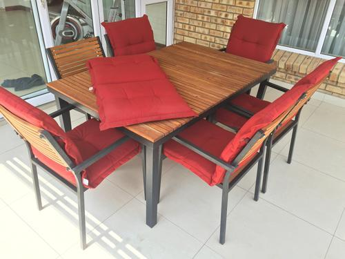 Patio Sets & Picnic Tables Patio Warehouse Aluminium & Ashwood Dini