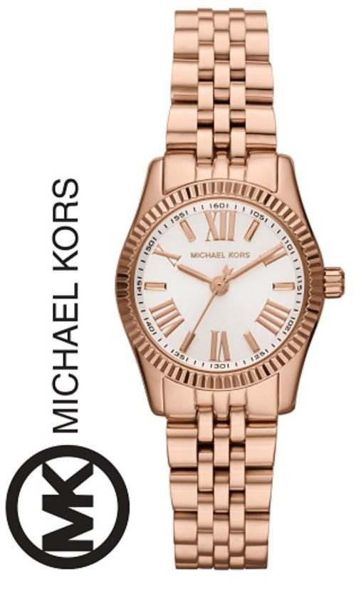 f2b46db770e3 MICHAEL KORS LEXINGTON PETITE ROSE GOLD LADIES WATCH (MK3230)   VALUE   R4100.00