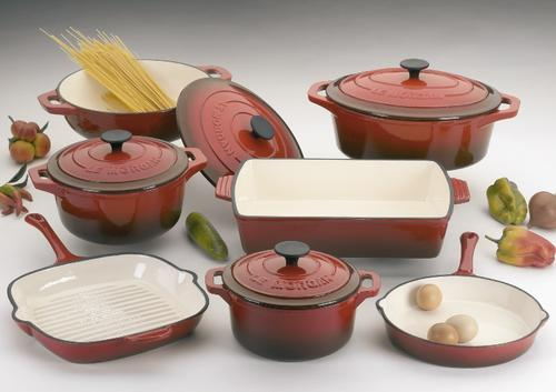 Cookware Sets Original Le Morgan 9 Piece Cast Iron