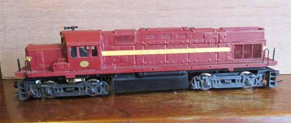 locomotive diesel ho