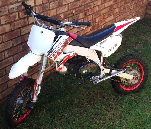 Motocross Bikes - Orion 125cc Pit Bike was sold for R3,500 ...