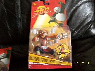 Other Action Figures Mattel Kung Fu Panda Claw Attack Master