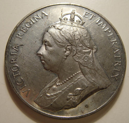 Queen Victoria Coronation Medal (1837-1897) Crown Size