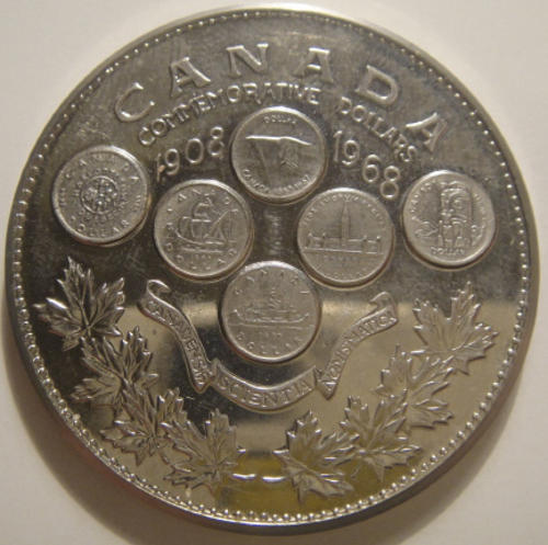 Canada: 1908-1968 Canada 60 Years of Numismatic Excellence Medallion
