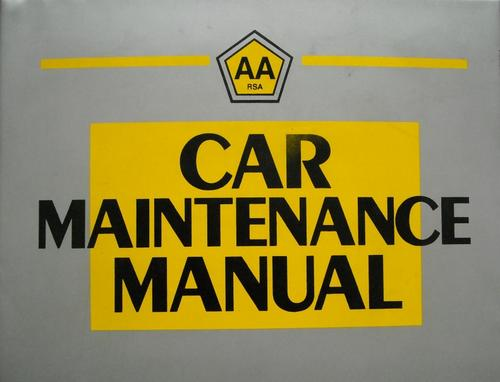 workshop manuals aa car maintenance manual was sold for r310 00 on rh bidorbuy co za auto maintenance manuals free download auto repair manuals