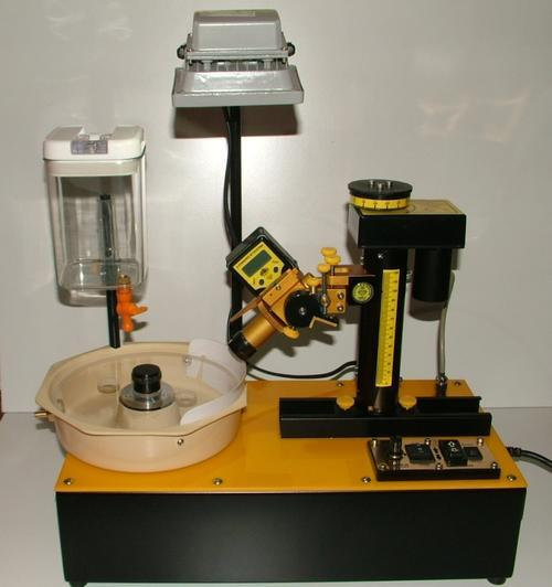 GEMSTONE FACETING MACHINE COMPLETE WITH ACCESSORIES AS LISTED