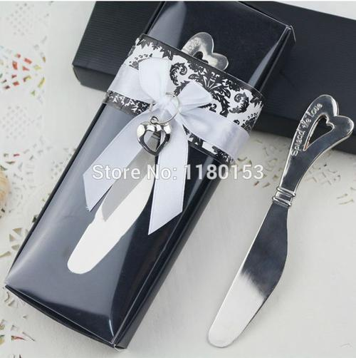 Wedding Gift Boxes Johannesburg : Spread the love butter knife in a box, perfect wedding thank you gift ...