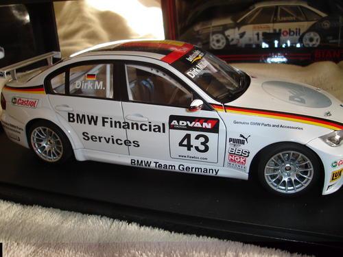 Models - AutoArt BMW 320si E90 WTCC 2006 1:18 scale diecast model ...