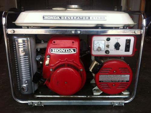 Generators Amp Electrical Honda E1500 Generator In