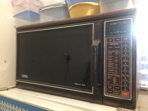 Appliances Antique Tedelex Litton Microwave Oven Was