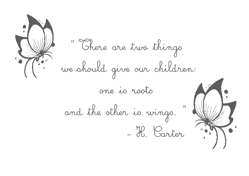 Wall Decals Babies Children Wings Vinyl Wall Art Quote