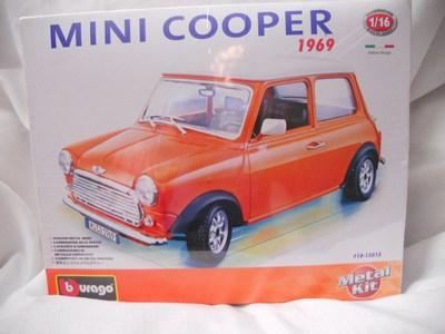 Models 1969 mini cooper 116 burago metal kit was sold for r190 1969 mini cooper 116 burago metal kit publicscrutiny Gallery