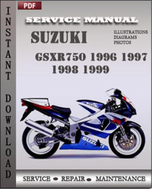 2009 suzuki gsxr 750 service manual