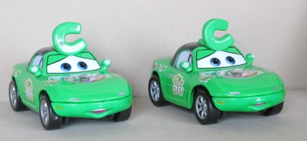 models disney pixar cars the movie chick hicks fans tia mia was sold for on 24. Black Bedroom Furniture Sets. Home Design Ideas