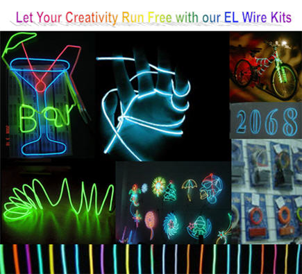 Other Electronics - Magic Glow Wire - EL Wire - Let your Creativity ...
