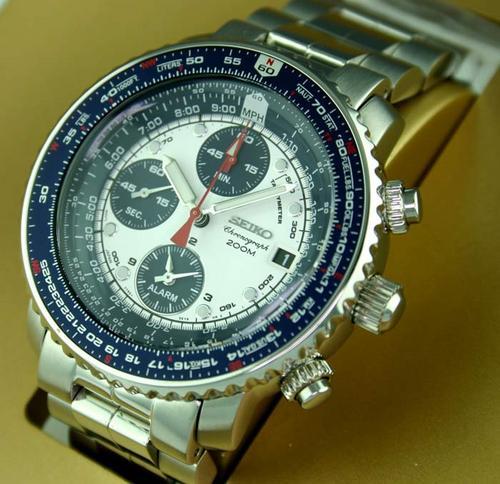 Stopwatches Sport Watches R599999seiko Mens Flightmaster