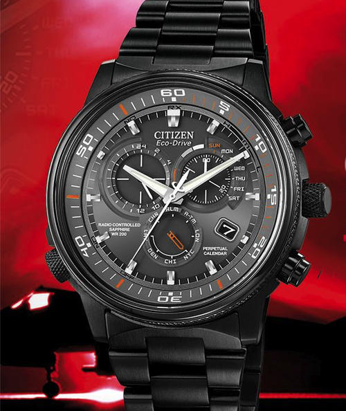 Men S Watches Latest Model Citizen Eco Drive Nighthawk A T