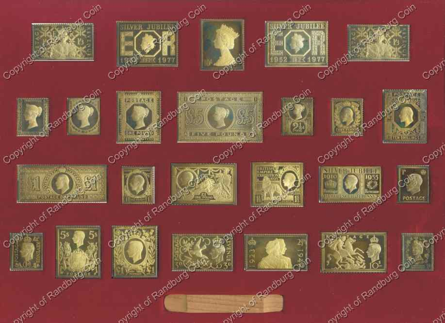 Other Stamps Of Royalty Queens Silver Jubilee Gold
