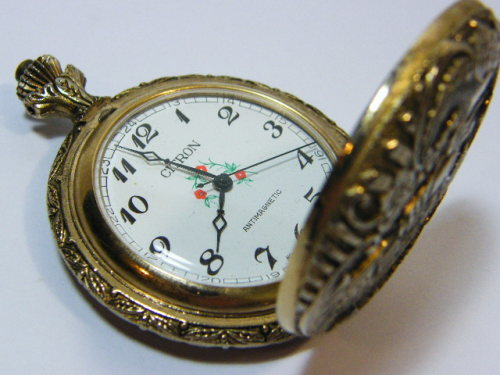 pocket watches citron antimagnetic pocket with