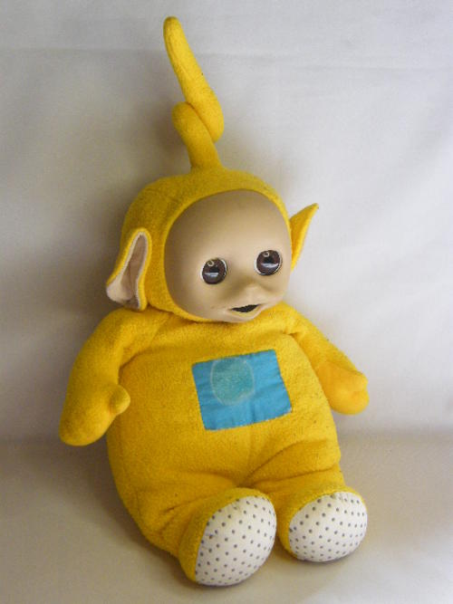 Character Toys - Vintage Teletubbies Lala doll - as per photo was ... 307ce9d02745