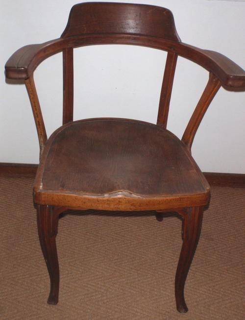 chairs, stools & footstools - antique 'captains chair' - lovely