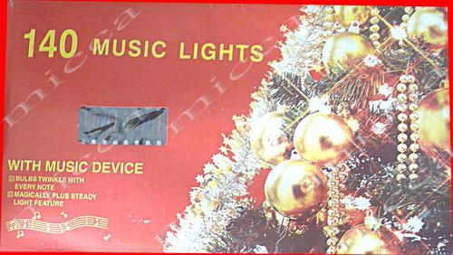 140 Music Christmas Lights