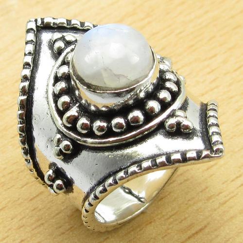 Rings - INDIA RANGE!! - GORGEOUS NATURAL RAINBOW MOONSTONE ...