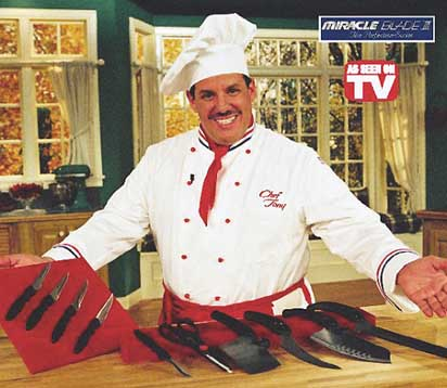 Chef Tony MIRACLE BLADE 3 LA SERIE PERFETTA - YouTube