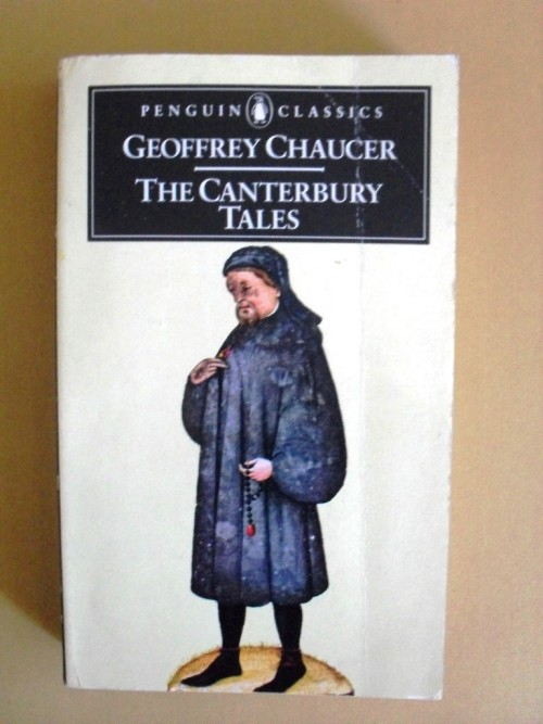 an analysis of the canterbury tales a book by geoffrey chaucer Title page of geoffrey chaucer's canterbury tales, possibly in the hand of the scribe adam pinkhurst, c 1400 chaucer's first major work, the book of the duchess , was an elegy for blanche.