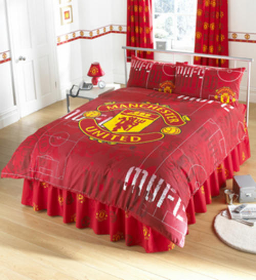 Technical Details. Other Soccer   Manchester United Queen Duvet Cover Set was sold