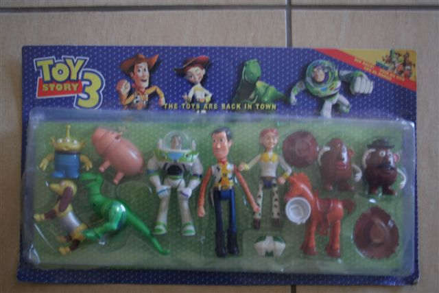 Toy Story Figurines : Lot disney toy story figurines buzz woody and friends nice