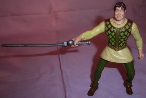 Other Action Figures - HUMAN FORM SHREK WITH SWORD, NOT MCDONALDS ...
