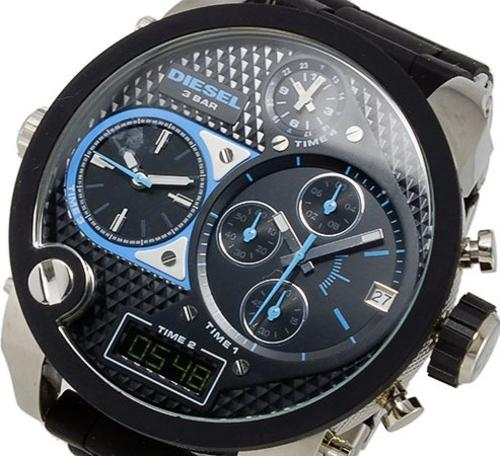 men 39 s watches diesel mens mr big daddy watch xxxl 57mm. Black Bedroom Furniture Sets. Home Design Ideas