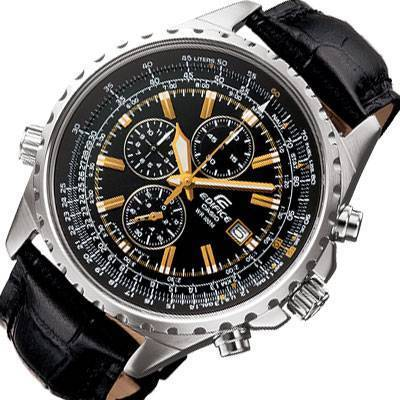 15453eadb Men's Watches - CASIO EDIFICE PILOT AVIATOR EF-527L-1AV**BRAND NEW ...