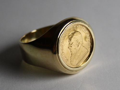 Krugerrand Ring Value
