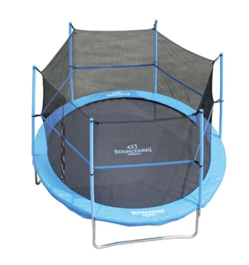 trampolines bounceking 10 foot air max trampoline combo was sold for r1 on 14 dec at 13. Black Bedroom Furniture Sets. Home Design Ideas