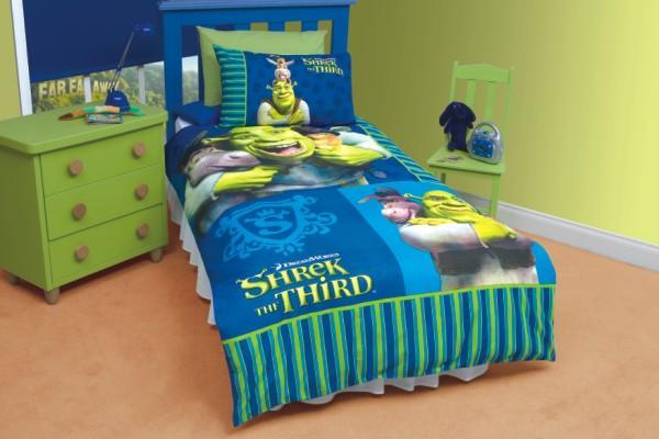 Other Bedding - Kids Bed Linen - Shrek Duvet Set
